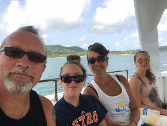 Christiansted, St. Croix: On the way to the reef.