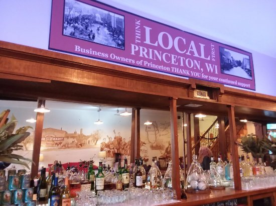 Princeton, WI: Bar from 1891