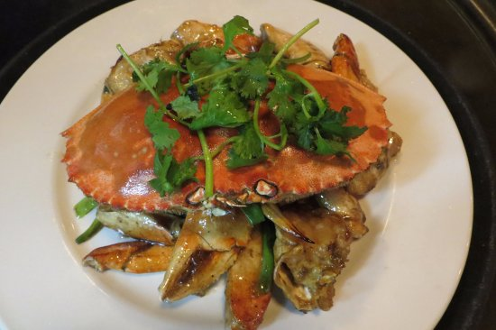 Port Orange, FL: Dungeness Crab Stir Fry w. Ginger & Scallion