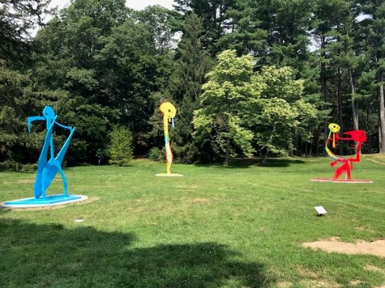 DeCordova Sculpture Park & Museum: 20 feet tall