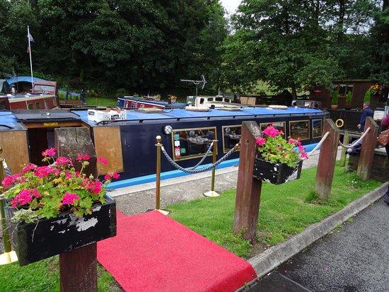 Hoghton, UK: Nice Barge