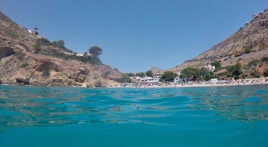 Playa La Granadella: photo2.jpg