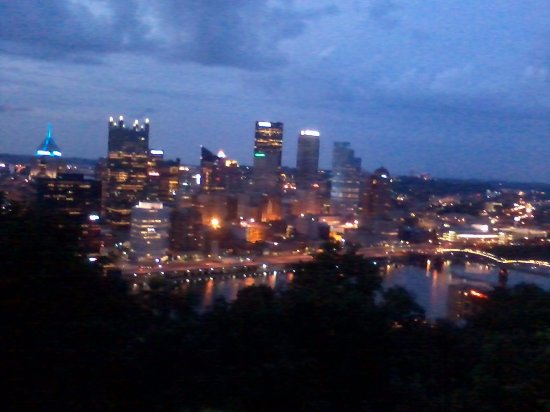 Mount Washington view of the city at night.