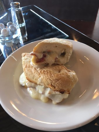 The Point Grill: Brie and Bacon Melt