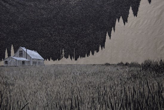 Cradley, UK: The Forest at the End of the World : Present  exhibition featuring Kenji Lim