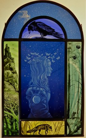 Cradley, UK: Tamsin Abbott : glass artist