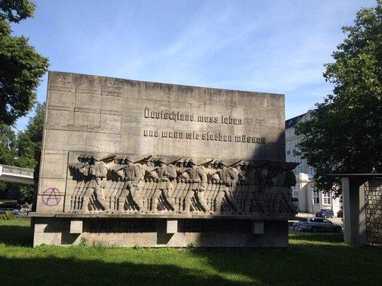 Kriegerdenkmal am Dammtordamm