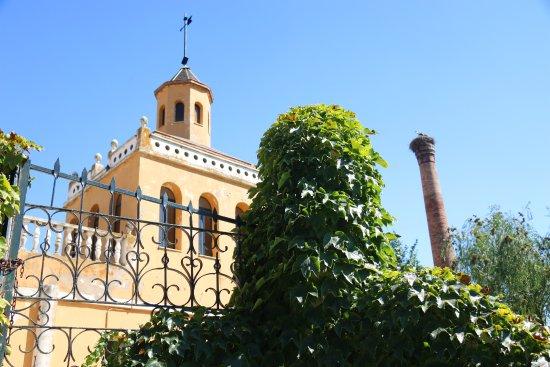 Hotel Las Navas: Jardín Trasero