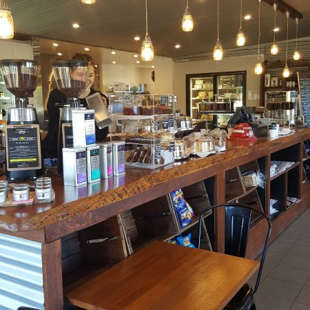 Ebenezer, Australia: The counter at Tractor 828