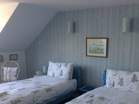 Tarbert, UK: Twin room seaview