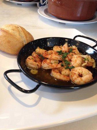 Seville Tapas: Gambas al Ajillo - menu item