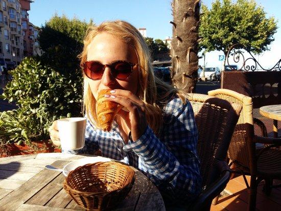 Hotel La Dorade: Perfect croissant