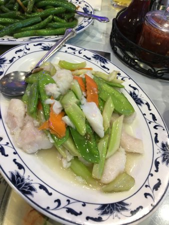 Harbor Palace: Sauteed Cod Fillet with veggies