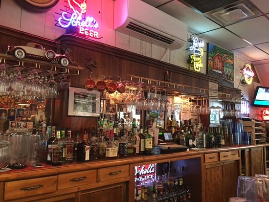 George's Fine Steaks & Spirits: Sweet bar,