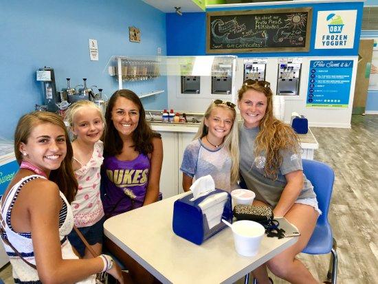 OBX Frozen Yogurt - Southern Shores, NC