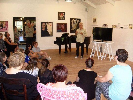 Matakana, New Zealand: An artists talk