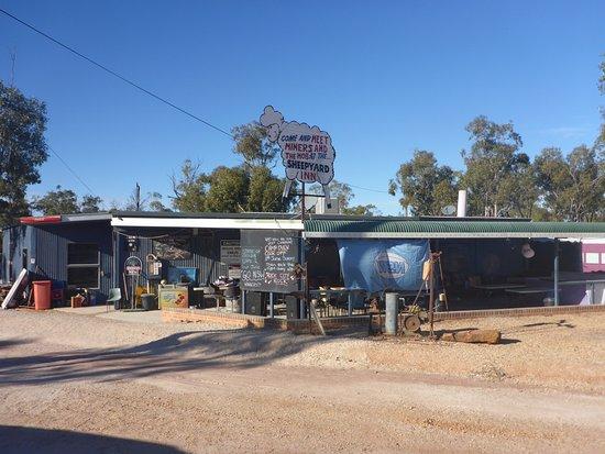 Walgett, Australia: The Pub & Menu Board