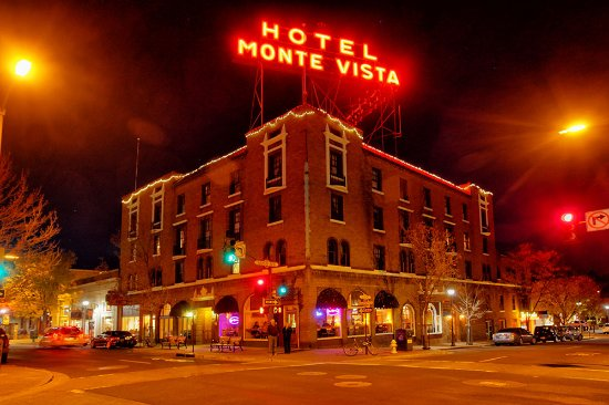 Hotel Monte Vista All Lit Up