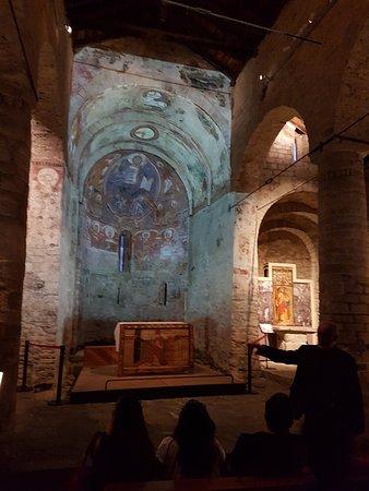 Taull, Spania: Proyección parcial en el altar