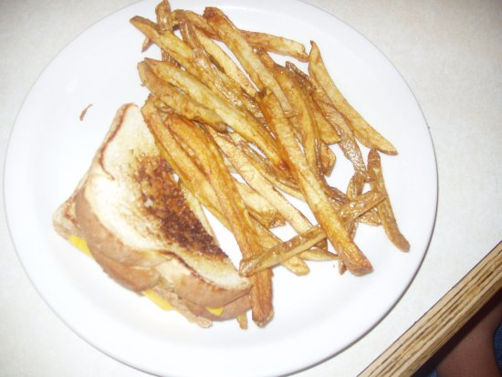 Dillon, MT: Great grilled cheese & fries