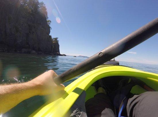 Eastsound, WA: GoPro shot on the Kayak tour