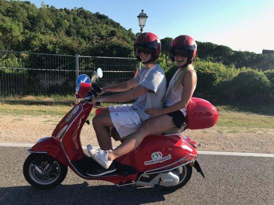 Сона, Италия: Motoragazzi scooter rentals in Verona Italy