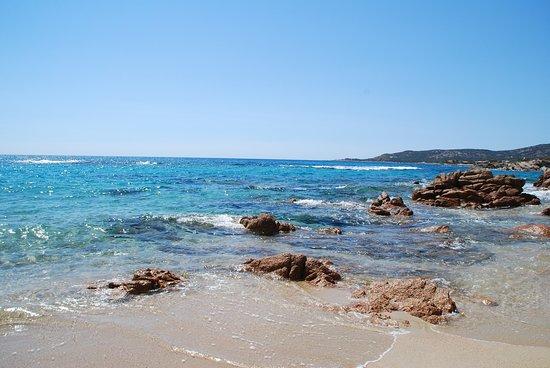 Tizzano, Francia: Spiaggia sabbiosa