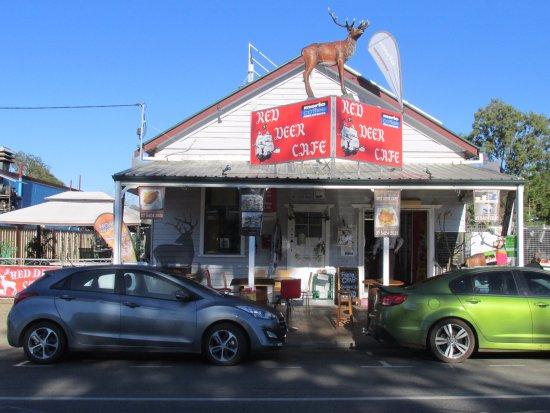 Esk, Australien: Cafe exterior