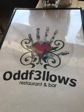 Oddf3llows: The Duck spring rolls were superb.  As we're my shrimp and grits.  My husband's steak and shrimp