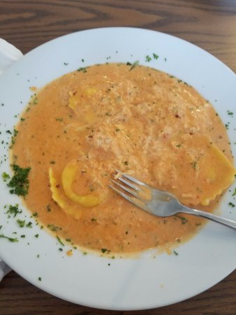 Petersburg, VA: Dreamy Lobster Ravioli