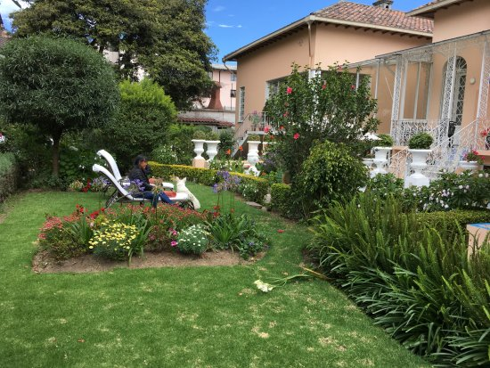 Boutique Hotel Mansion del Angel: Beautiful Garden