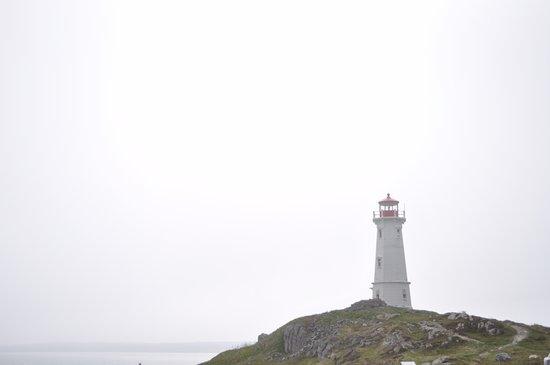 Louisbourg, Canada: Far view