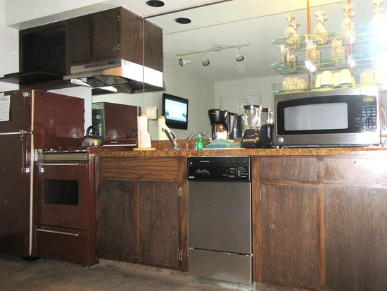 Kitchen Area, One Bedroom Unit, Thunderbird Resort Club, Sparks, Nevada