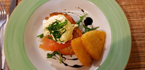 Blackheath, Australie : Baby Eggs Benedict with side order of hashbrowns