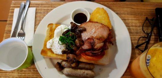 Blackheath, Australia: Big Breakfast