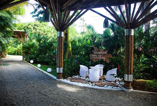 Cocles, Costa Rica: Hotel Entrance