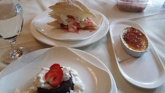 Hudson, نيويورك: Delicious desserts