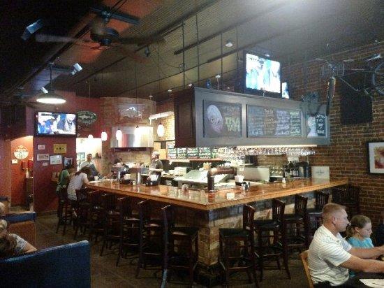 Greenwood, SC: Bar area
