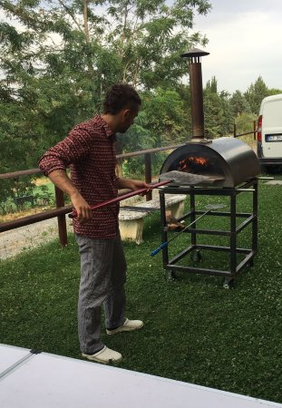 Greve in Chianti, Italy: The pizza oven