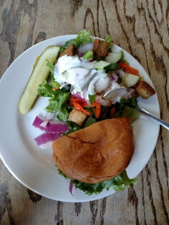 Athens, GA: Burger & Salad!