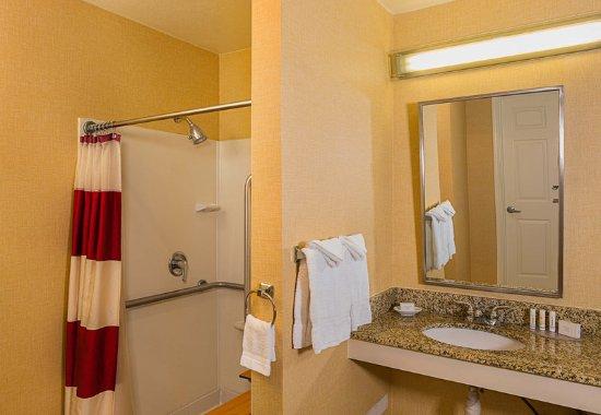 Sunnyvale, CA: Accessible Suite Bathroom