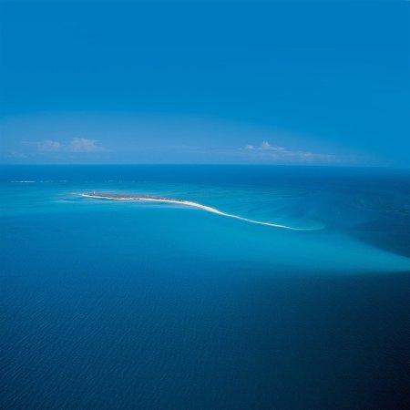 Quirimbas Archipelago, Mozambik: Medjumbe Island Aerial