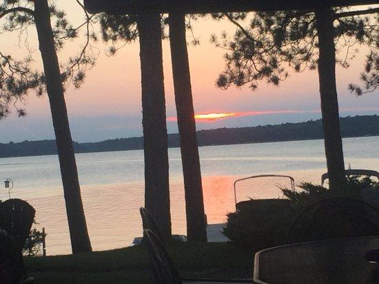 Crosslake, MN: Sunset