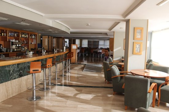 Hotel Port Alicante: Bar and Lounge