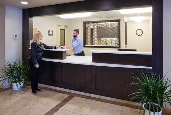 Our friendly staff awaits to welcome you to the Bemidji Candlewood