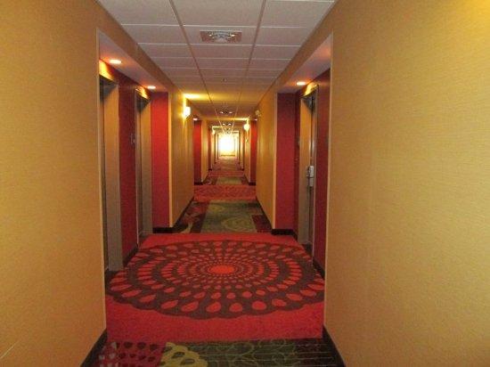 Cloverdale, IN: Hallway