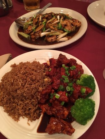 ‪‪Burlington‬, نيو جيرسي: homestyle chicken (their version of general tso)‬