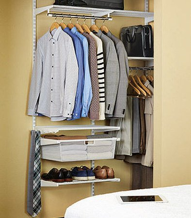 Milpitas, CA: elfa® closet from The Container Store®