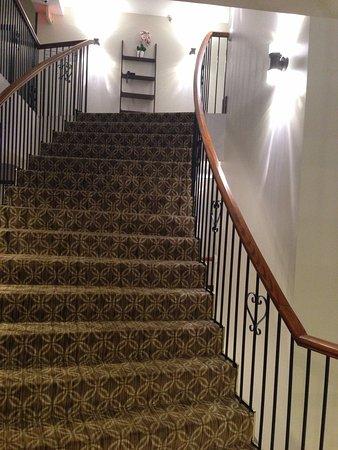 Stairway at the Roslyn Hotel