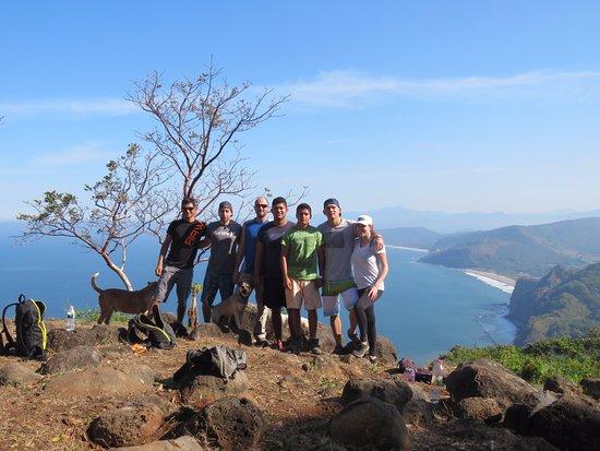 Lo de Marcos, México: Hiking group
